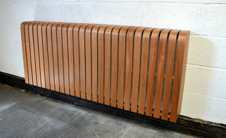 Cool Cherry Radiator Cover: scandinavian  by Cool Radiators? It's Covered!, Scandinavian Wood Wood effect