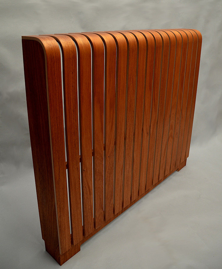 Timber Sapele Radiator Cover: modern  by Cool Radiators? It's Covered!, Modern Wood Wood effect