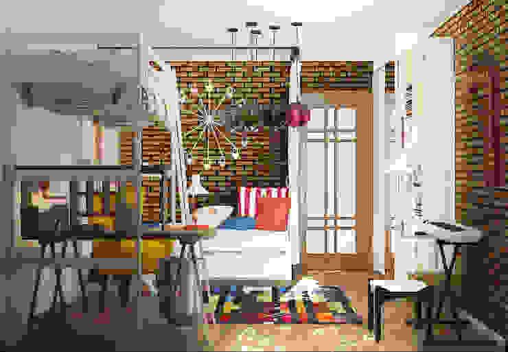Детская комната в стиле лофт от homify Лофт