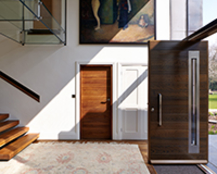 Gallery Pasillos, vestíbulos y escaleras de estilo moderno de Urban Front Moderno