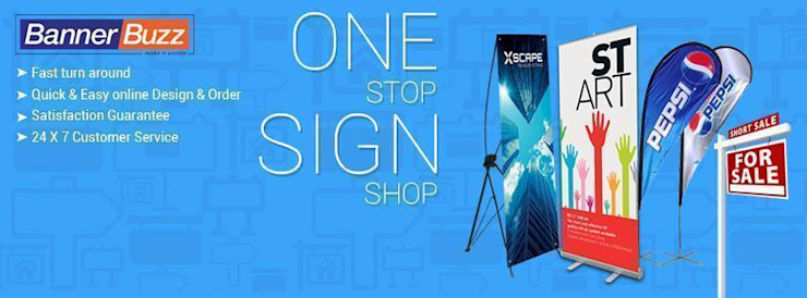 ONE STOP SIGN SHOP by Banner Buzz