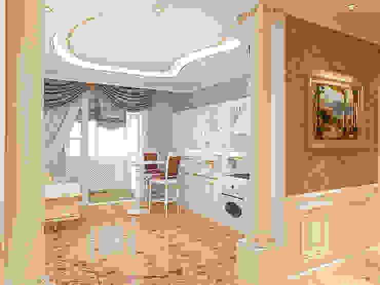 Неоклассика Кухня в классическом стиле от Дизайн студия Александра Скирды ВЕРСАЛЬПРОЕКТ Классический