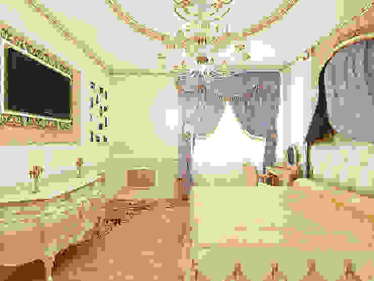 Неоклассика Спальня в классическом стиле от Дизайн студия Александра Скирды ВЕРСАЛЬПРОЕКТ Классический