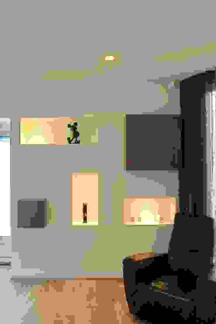 Nissenwand Moderne woonkamers van Leonardus interieurarchitect Modern