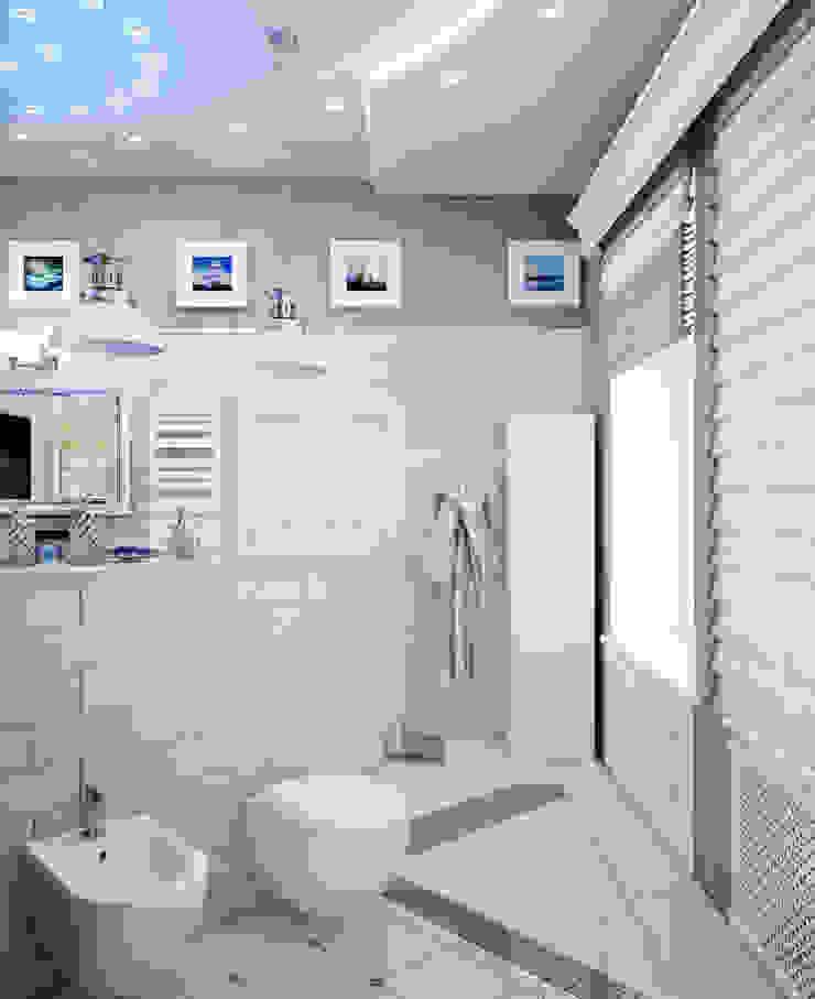 квартира на Аптекарской набережной Ванная в классическом стиле от EJ Studio Классический