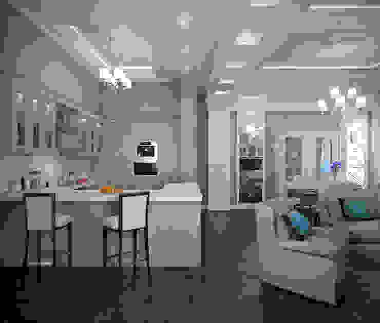 Klassische Wohnzimmer von EJ Studio Klassisch