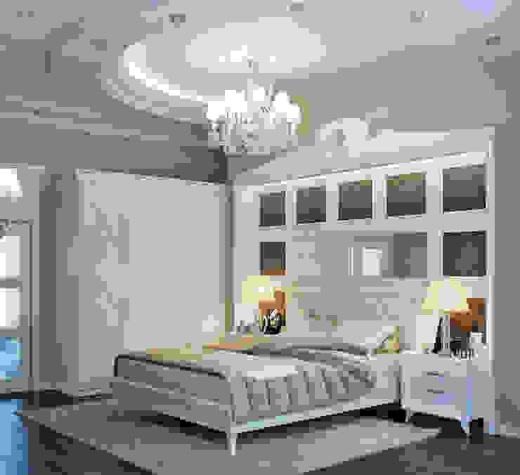 Klassische Schlafzimmer von EJ Studio Klassisch