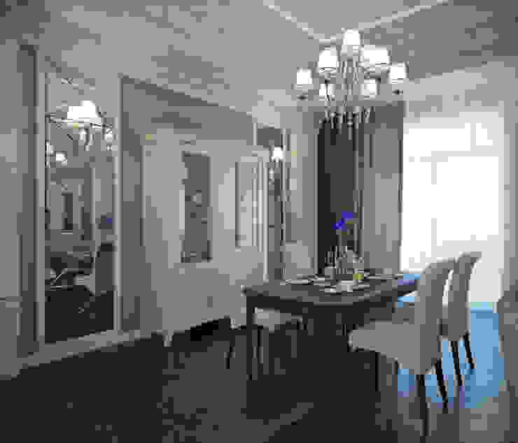 квартира на Аптекарской набережной Столовая комната в классическом стиле от EJ Studio Классический