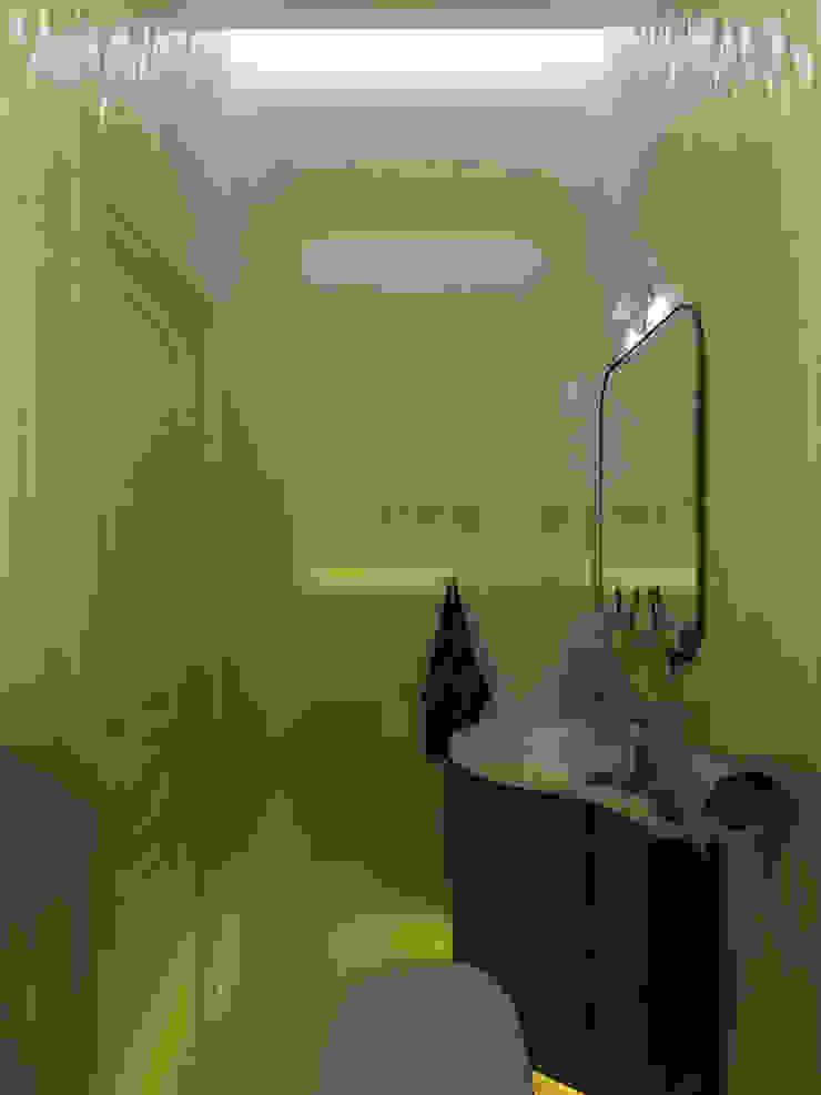 Художники Ванная комната в эклектичном стиле от Дизайн студия Александра Скирды ВЕРСАЛЬПРОЕКТ Эклектичный
