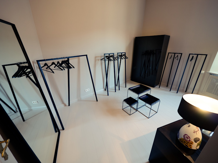 Dressing room by Gleba + Störmer , Minimalist
