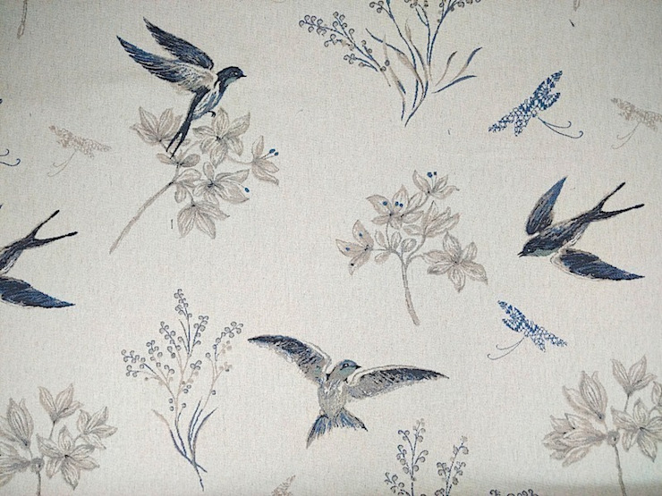 Swallows Tapestry Royal Blue: country  by The Millshop Online, Country