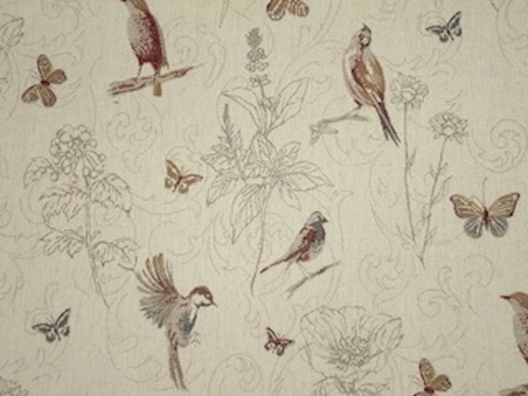 Woodland Birds Tapestry Fabric : country  by The Millshop Online, Country