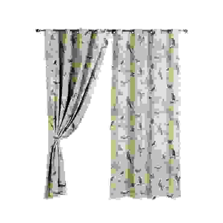 Woodland Birds Curtains od The Millshop Online Wiejski