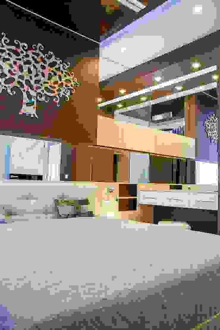 Молочный шоколад Спальня в стиле минимализм от blackcat design Минимализм