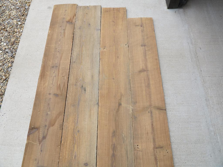 Reclaimed Antique Pine Floorboards par UKAA | UK Architectural Antiques Classique