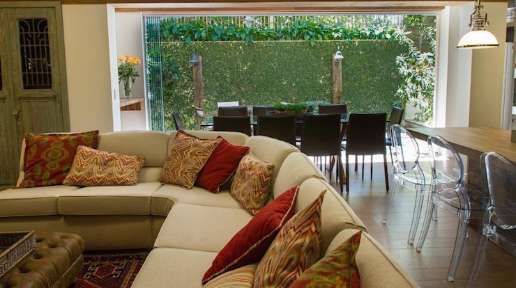 Casa Salas de estar modernas por Mauricio Tarrago /Claudio Gros Arquitetura Moderno