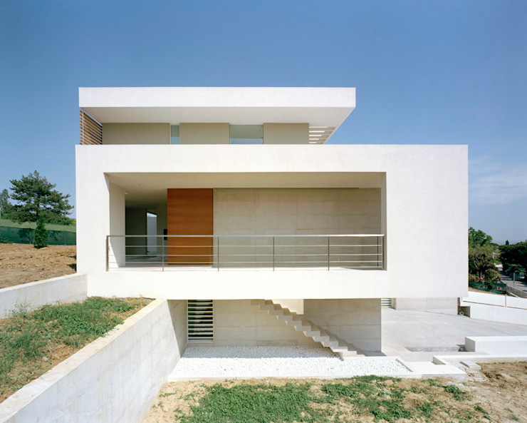 Moderne Häuser von Massimo Zanelli architetto Modern