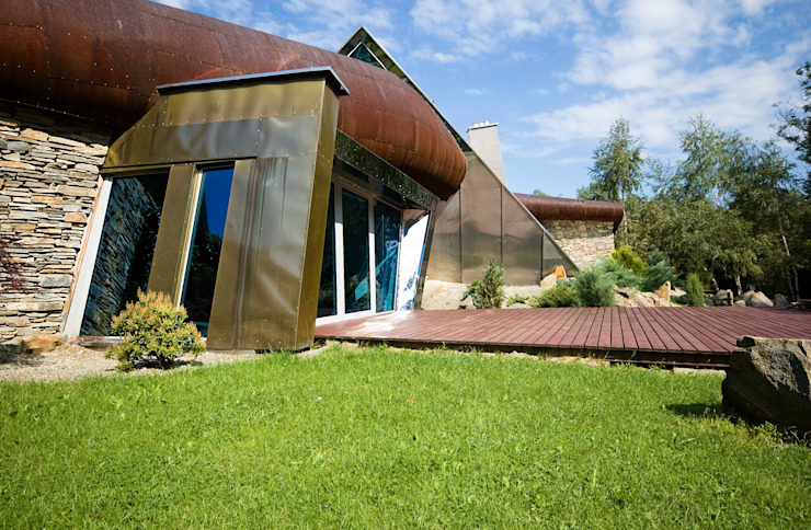 Дома в стиле модерн от autorskie studio architektury Модерн