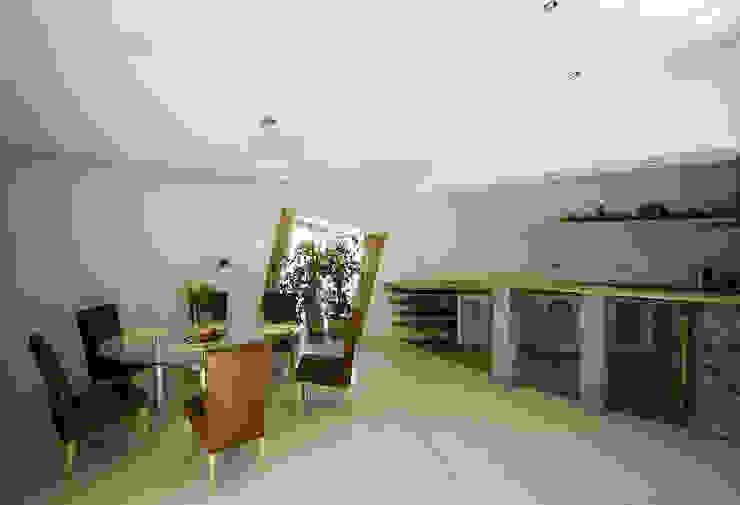 Dom Własny Nowoczesna jadalnia od autorskie studio architektury Nowoczesny