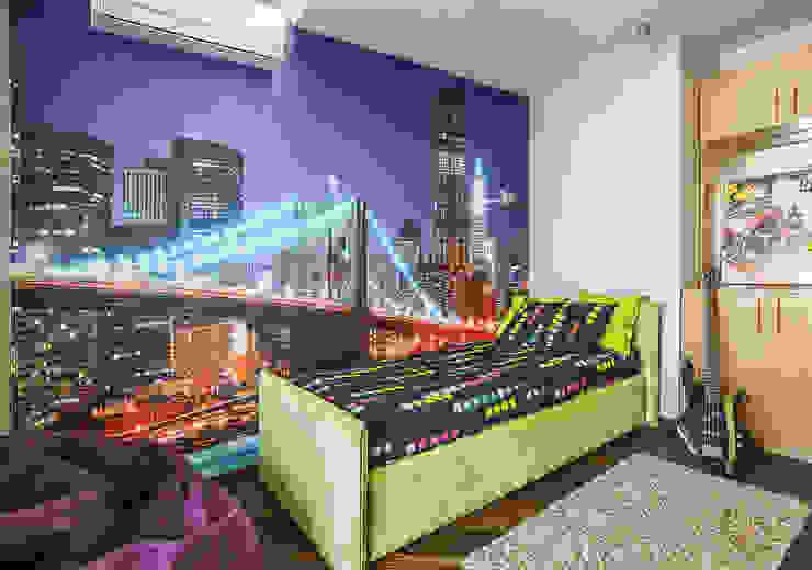 Уютная квартира в теплых тонах Детская комнатa в стиле минимализм от Ольга Макарова (Экодизайн) Минимализм