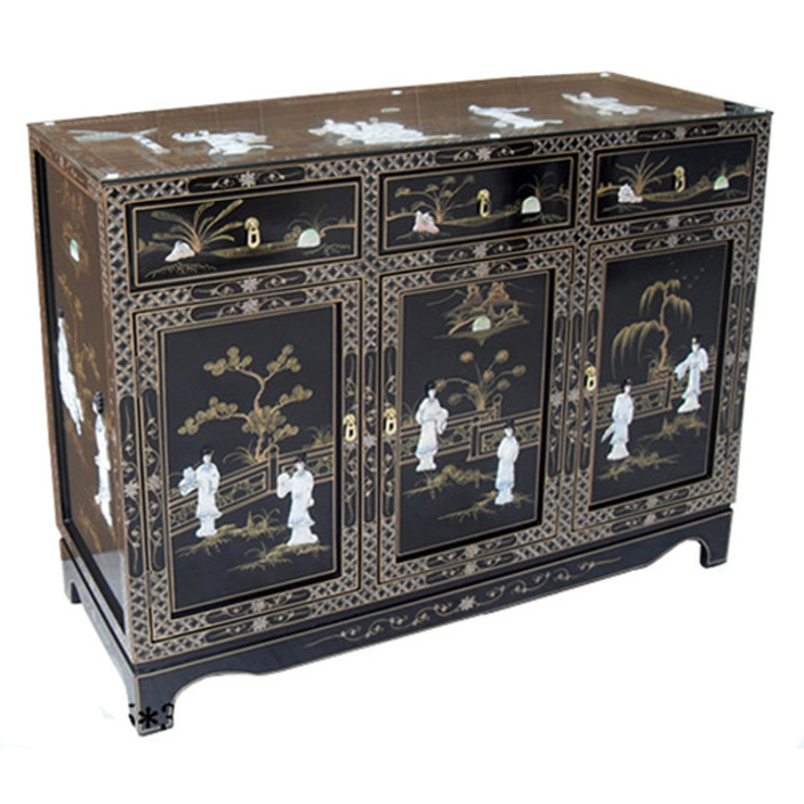 Chinese Lacquer Sideboard: asian  by Asia Dragon  Furniture  from London, Asian