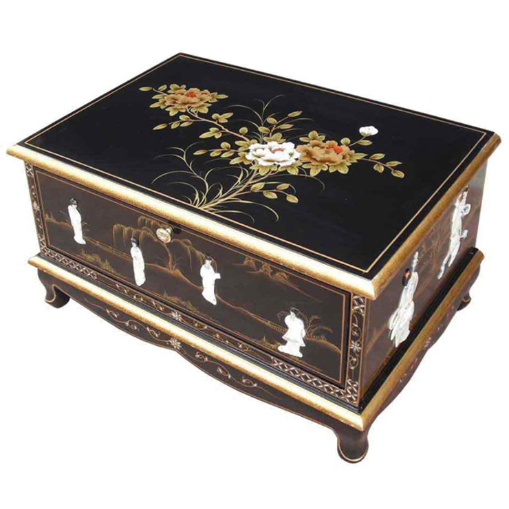 Chinese Lacquer TV Cabinet: asian  by Asia Dragon  Furniture  from London, Asian
