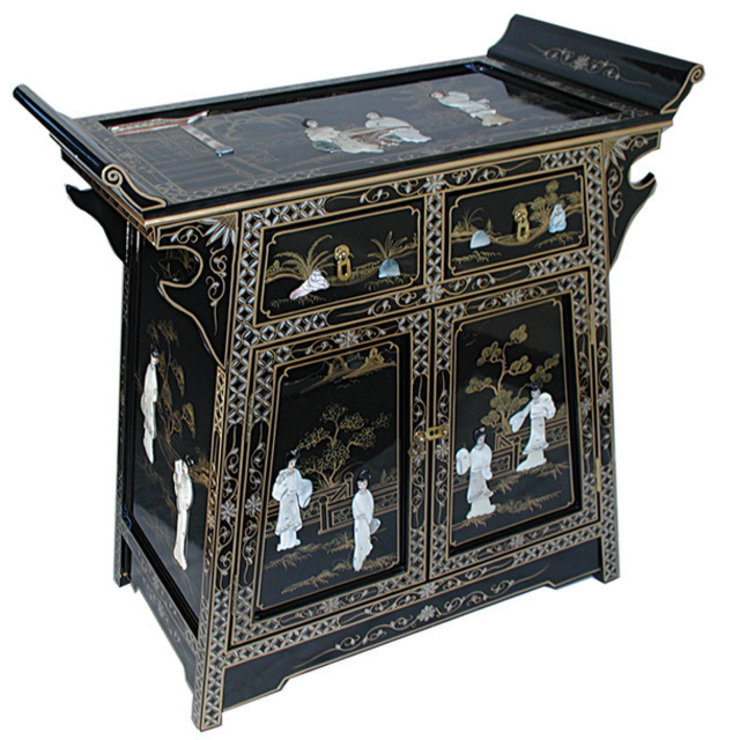Lacquer 'A' Line Cabinet: asian  by Asia Dragon  Furniture  from London, Asian