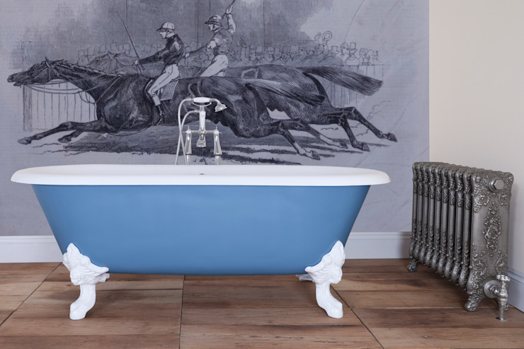 Cartmel Double Ended Roll Top Cast Iron Bath from the UKAA Bathroom Range : classic  by UKAA | UK Architectural Antiques , Classic