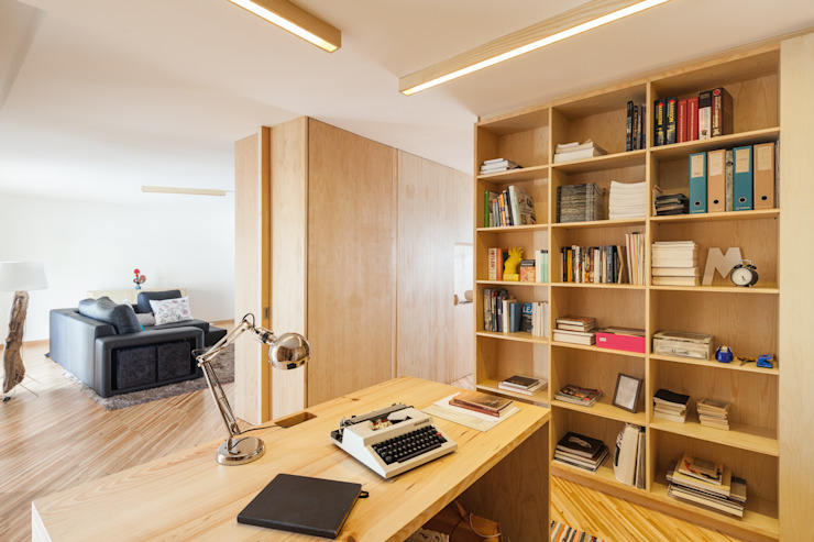 SilverWoodHouse Modern Study Room and Home Office by Joao Morgado - Architectural Photography Modern