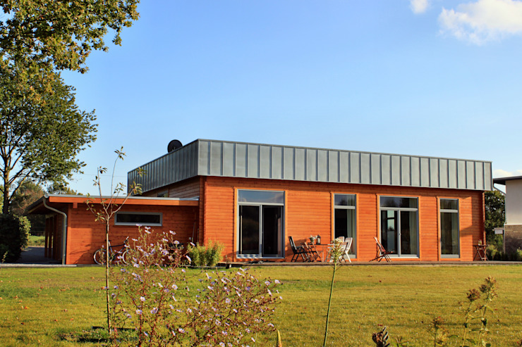 Individuelles Blockhaus Moderne Häuser von Schwesig & Söhne GmbH Modern