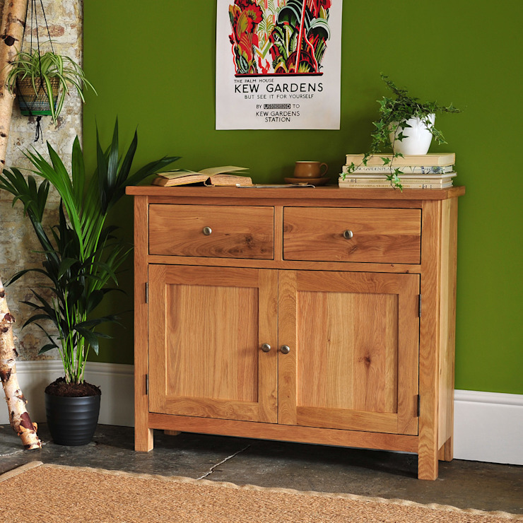 Sterling Oak Small Sideboard The Cotswold Company Living roomCupboards & sideboards