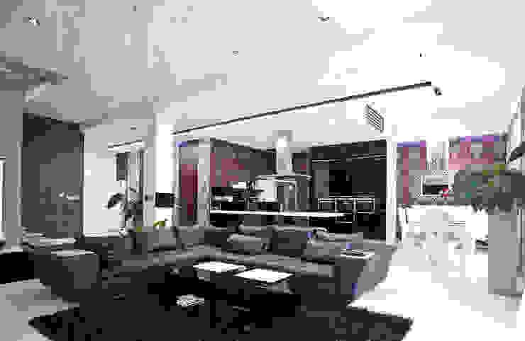 Glamour Nowoczesny salon od KLIFF DESIGN Nowoczesny