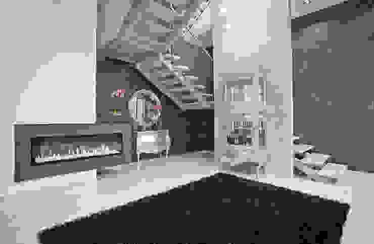 Pasillos, vestíbulos y escaleras de estilo moderno de KLIFF DESIGN Moderno
