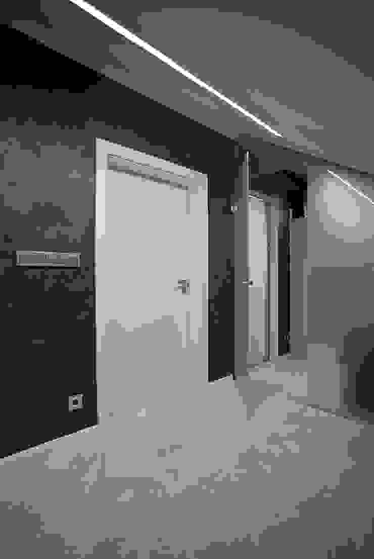 Glamour Nowoczesny korytarz, przedpokój i schody od KLIFF DESIGN Nowoczesny
