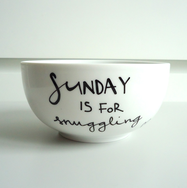 SUNDAY is for snuggling od My Mug Company Skandynawski