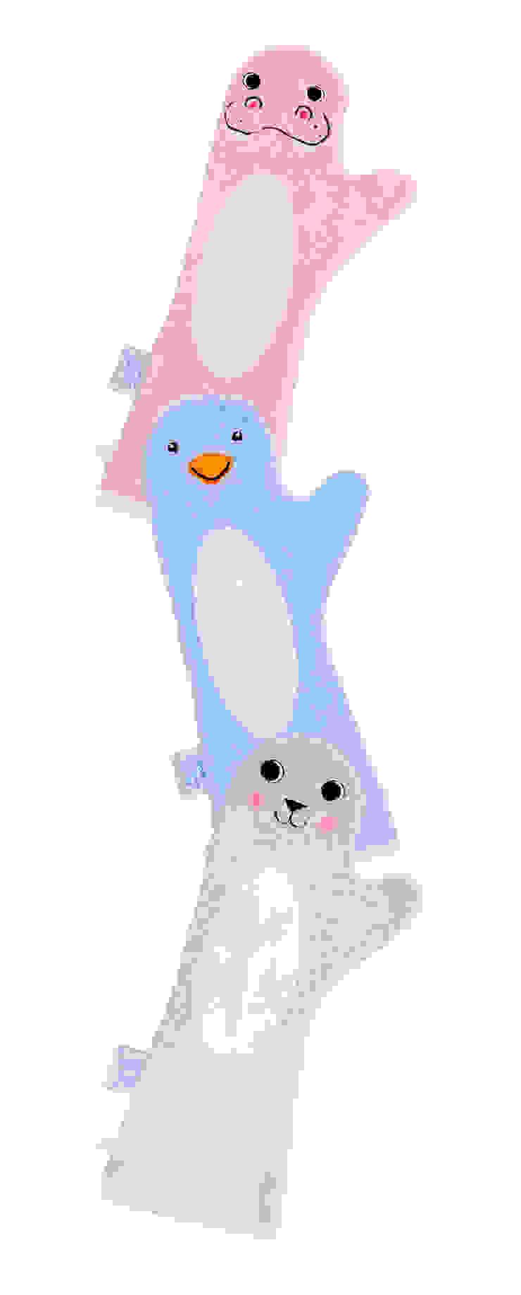 Baby Shower Glove™; beter grip op je baby tijdens het douchen van Invented 4 Kids™