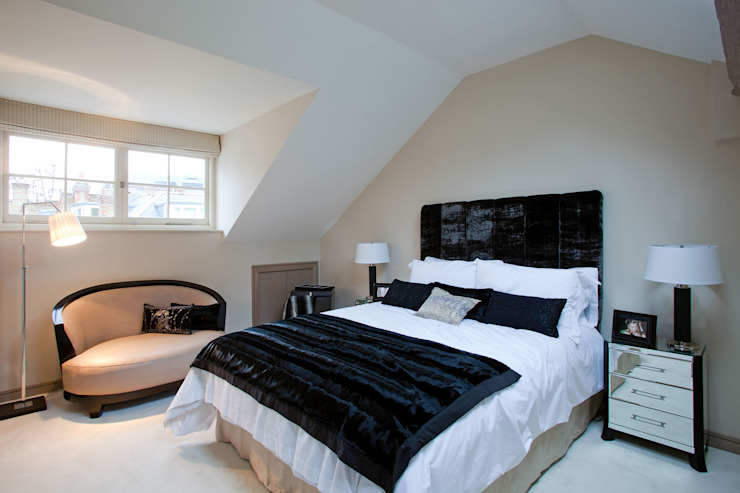 Top Floor Bedroom Modern style bedroom by RBD Architecture & Interiors Modern