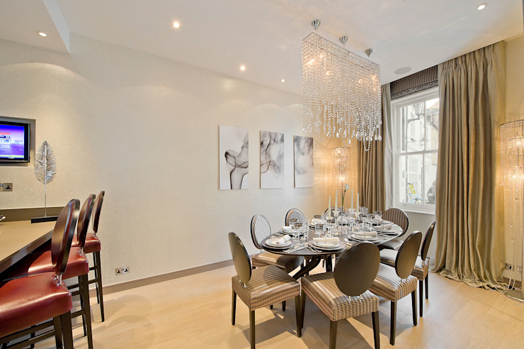 Dining Room Ruang Makan Modern Oleh RBD Architecture & Interiors Modern