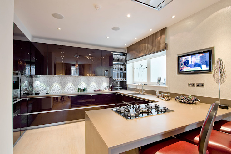 Kitchen Modern style kitchen by RBD Architecture & Interiors Modern