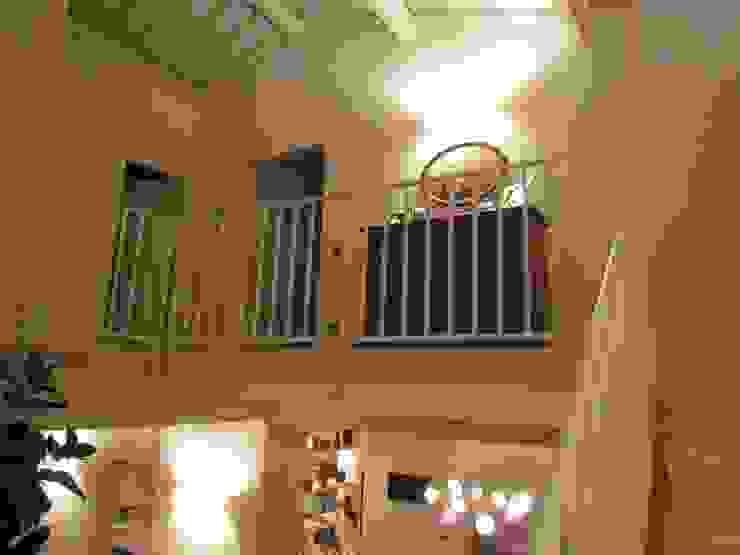 Garden House Lazzerini Couloir, entrée, escaliers modernes