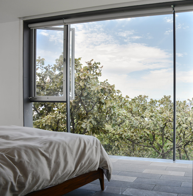 Casa en el Cielo Dormitorios modernos de Villar Watty Arquitectos Moderno