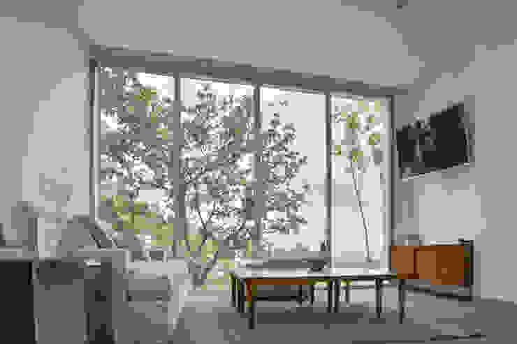 Casa en el Cielo Salones modernos de Villar Watty Arquitectos Moderno