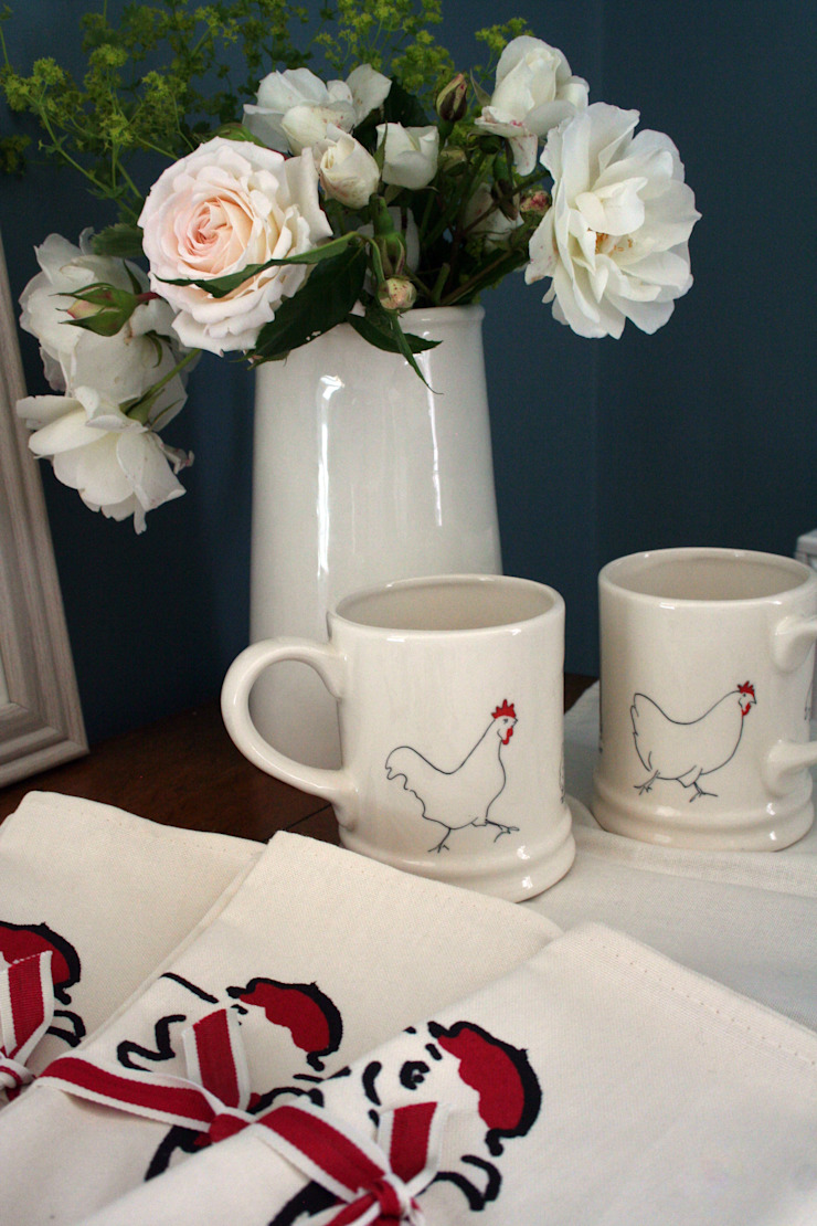 Chicken Mugs: country  by Cluck Cluck!, Country