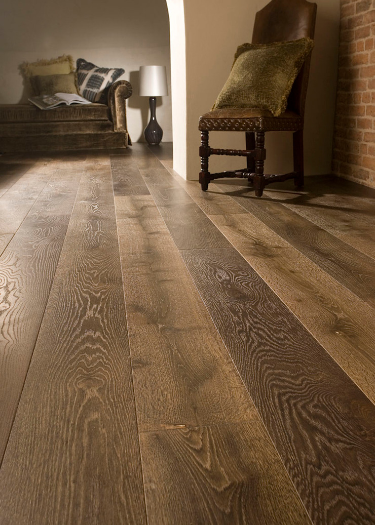 FSC Handfinished engineered Oak planks: country  by Woodenfloors.uk.com, Country