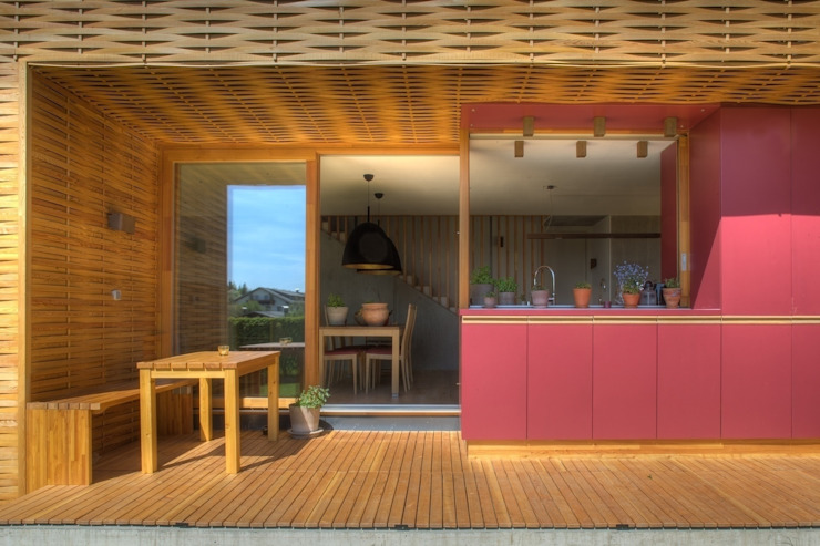 Scandinavian style dining room by kleboth lindinger dollnig Scandinavian
