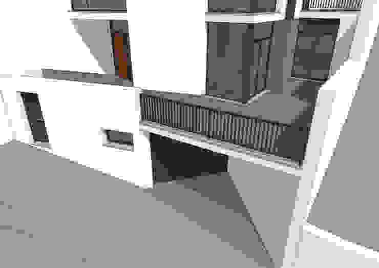 casa Escudero/Cardeñas Casas de estilo moderno de Alejandro Ramos Alvelo / arquitecto Moderno
