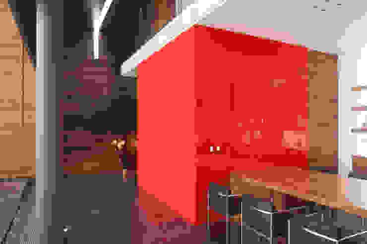 Casa Rinconada. Comedores minimalistas de Echauri Morales Arquitectos Minimalista