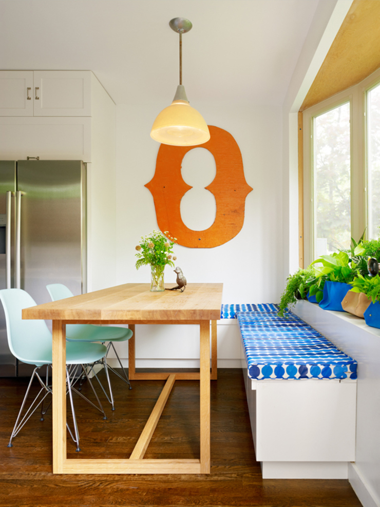 Sharon Street Modern dining room by General Assembly Modern
