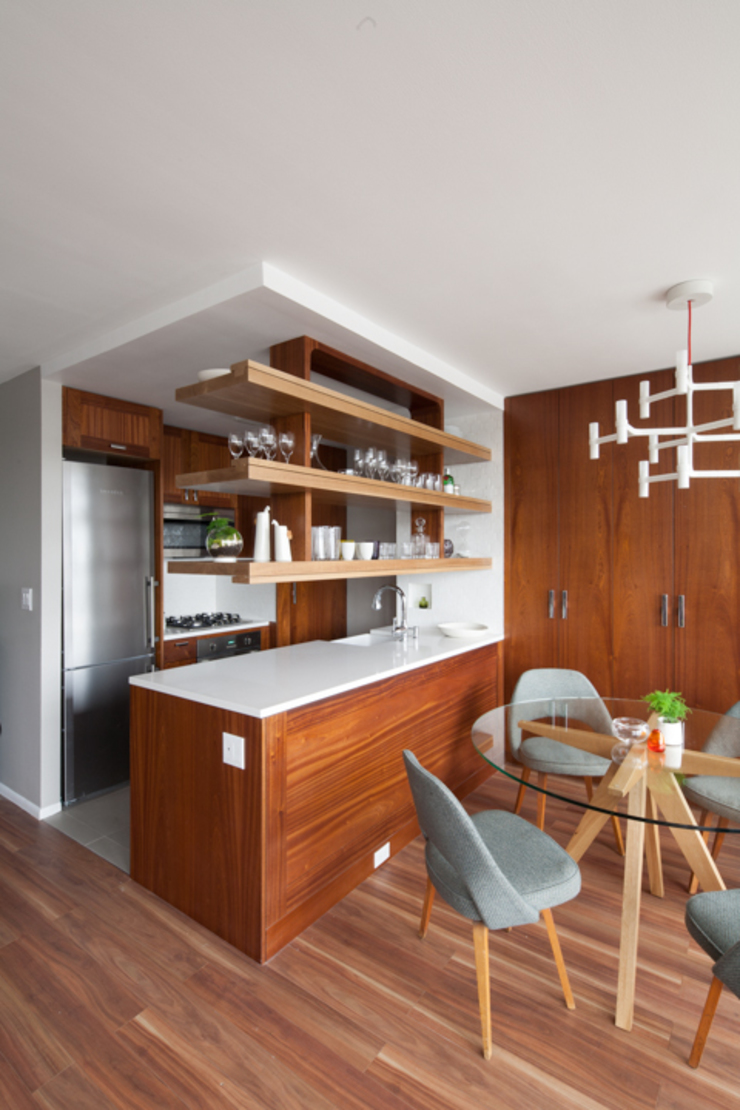 Midtown West Modern kitchen by General Assembly Modern