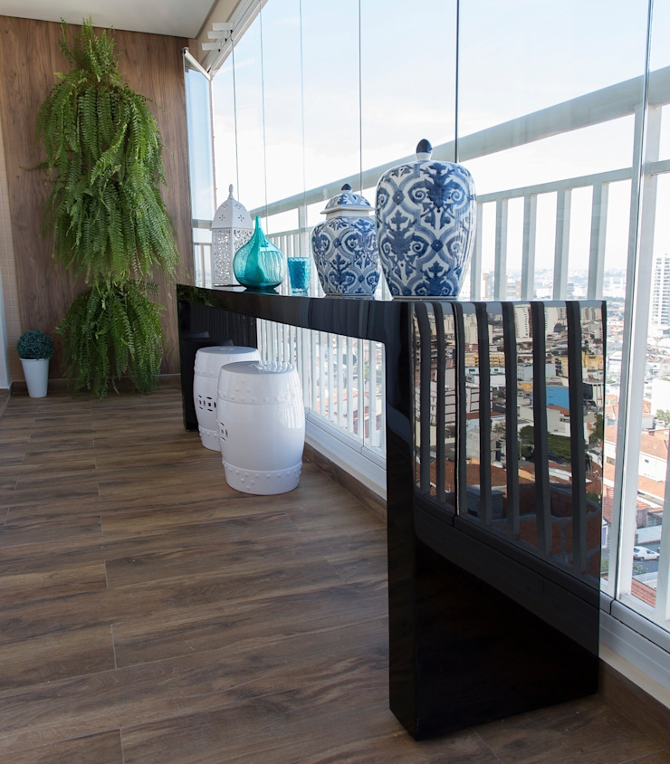 Mediterranean style balcony, veranda & terrace by Barbara Dundes | ARQ + DESIGN Mediterranean